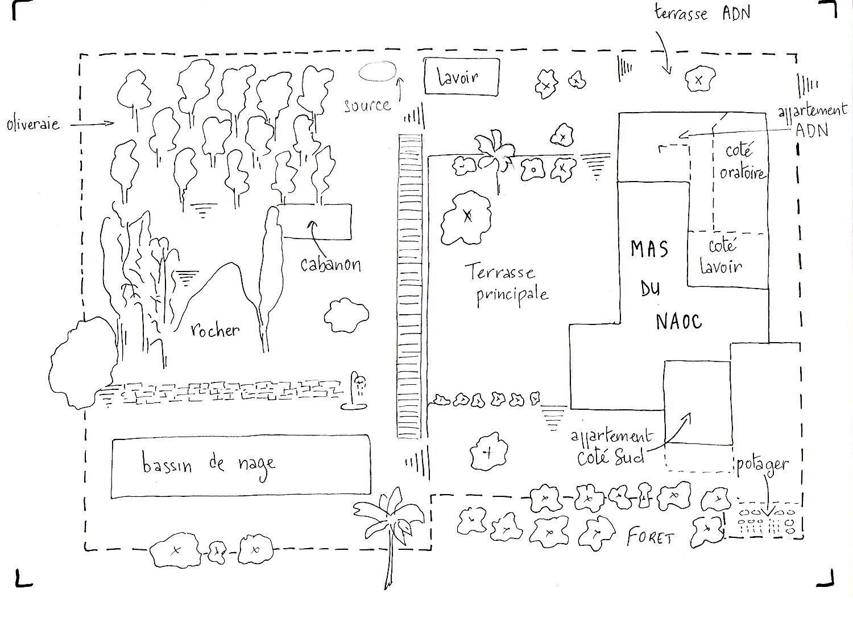 plan appartement côté sud