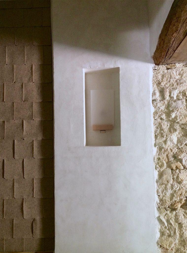 mur en feutre