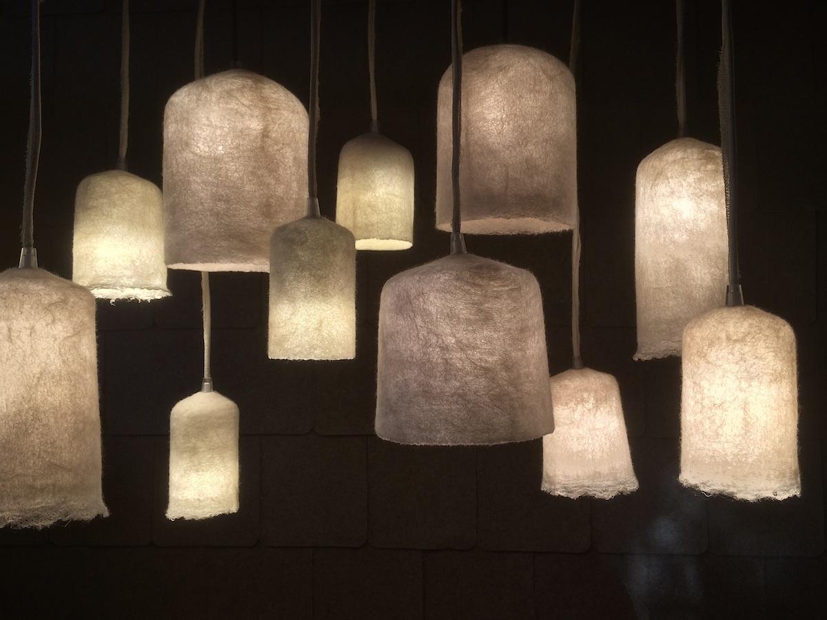 luminaires en feutre