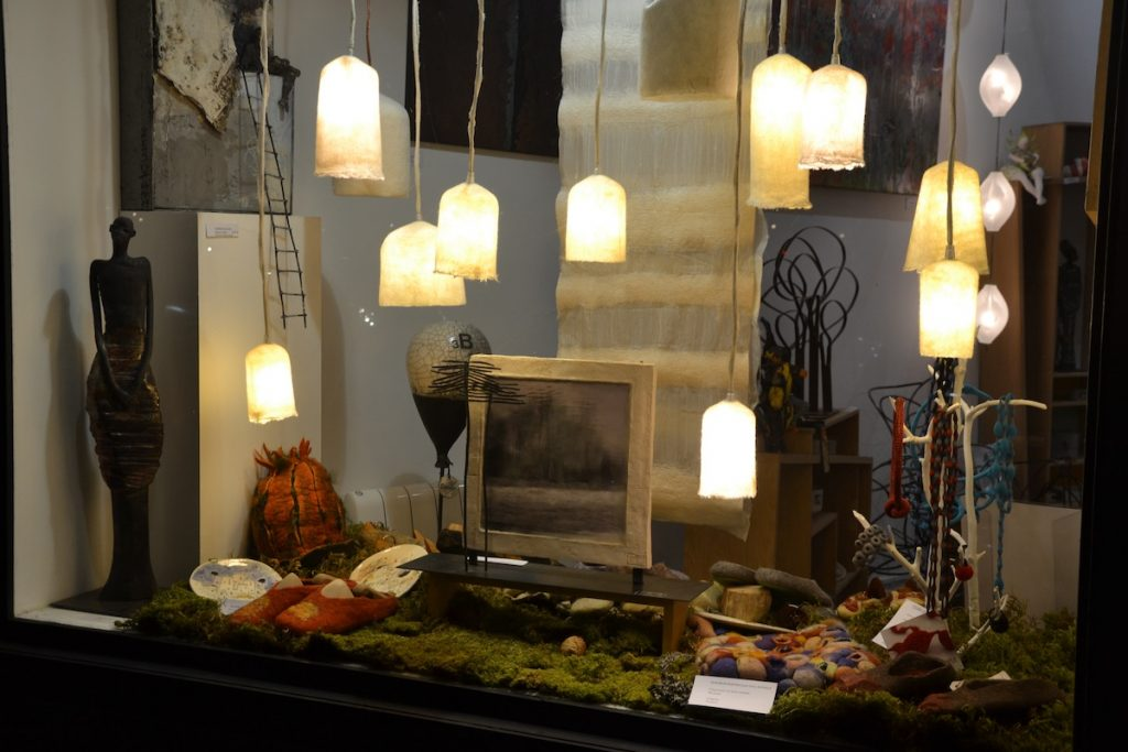 Réalisation vitrine galerie Lyon